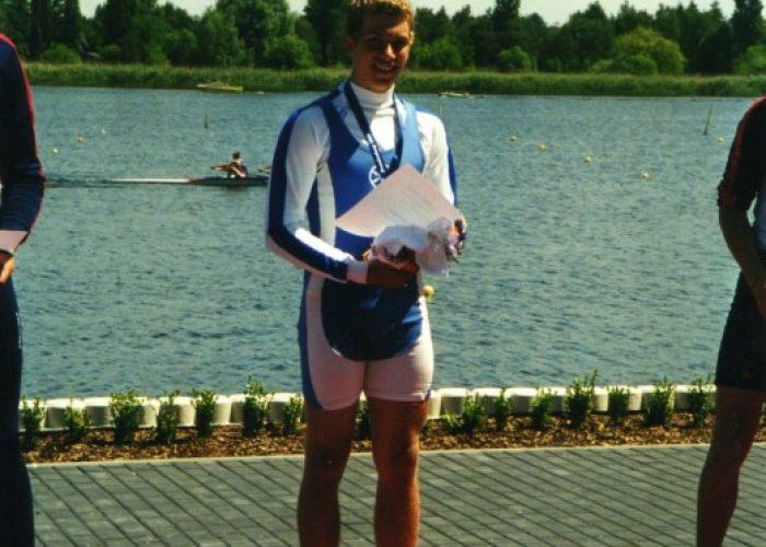 Deutscher Junioren- Meister 2001 Simon Gawlik