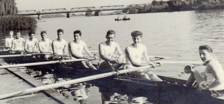 Jugendbeste im 4er und 8er 1958