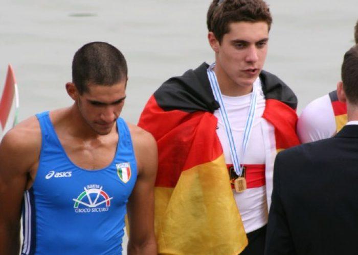 Junioren- Weltmeister 2008 nur Lukas Linden