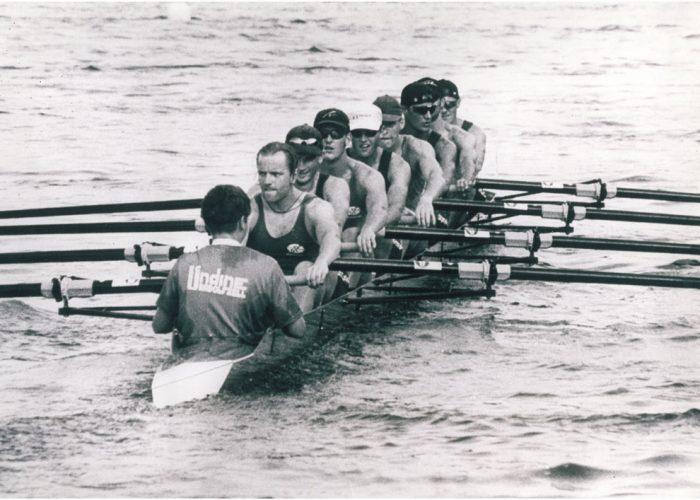Weltmeister im Lgw. Achter 1998 Daniel Rosenberger