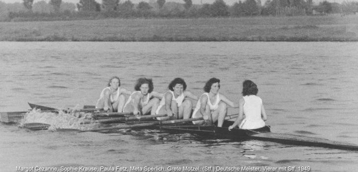 deutsche-Meisterinnen-Vierer-mitStf-1949